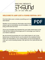 AMP Lost & Found Information Pack