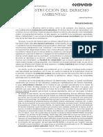 Aula 1 - La Construccóin Del Derecho Ambiental - Gabriel Ferrer
