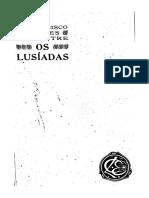 Os Lusíadas Comentário de Francisco de Sales Lencastre Volume 1- EDIÇÃO ANOTADA