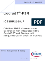 Infineon ICE3BR2565JF DS v02 01 En