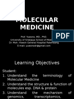 IT 3 - Molecular Biology Overview YON