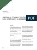 Trilogia Ingenieria Vol37 n27 Sistemas de Excitacion Estatica Para Generadores Sincronicos Pag138 147