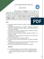 """Convocatoria Técnico Académico Asociado """"C"""" de Tiempo Completo Tec BigData"""