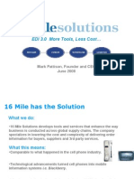 16MileSolutions Investor Power Point June 2008