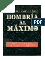 Edwin Louis Cole - Hombria Al Maximo PDF IMPRIMIBLE DOBLE CARA