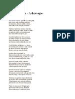Lucian Blaga - Arheologie.docx