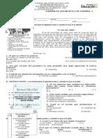 324071321 Examen de Diagnostico de Espanol 2 Secundaria