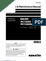 operation manual komatsu pc138uslc