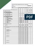 Infraestructura Administrativa - Metrado Total