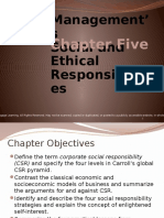 chp 5 managements social and ethical responsibilities