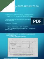 Material Balance Method