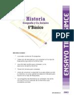 Prueba 1 de Historia 6basico 2014