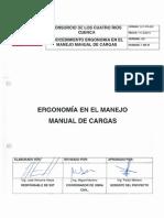 Ergonomia en El Manejo Manual de Cargas