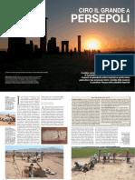 Ciro il Grande a Persepoli - Archeologia Viva, Aprile 2017