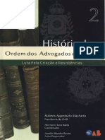 Volume 02 - Historia Da OAB - Luta Pela Criação e Resistências