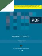 Memento Fiscal 2011