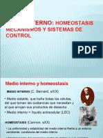 3. Homeostasis y Medio Interno