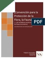 Convencion Para La Proteccion de La Flora y Fauna