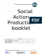 social action booklet group
