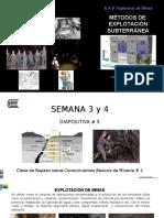 Diapositiva # 5 Métodos Subterráneos 2017 I S 3-4