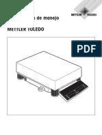 Manual Mettler Toledo SG32001