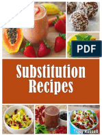30 Day Whole Foods Substitution Recipes