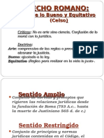 El Derecho Romano.Evolución. Estado Romano