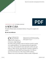Lee Anderson a New Cuba