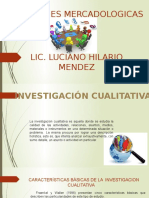 1.4 Investigación Cualitativa