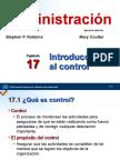 Robbins_Adm10ed_Cap17 Introducción Al Control