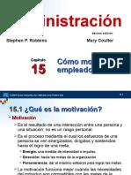 Robbins_Adm10ed_Cap15 cómo motivar a los empleados.ppt