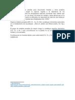Bioacomuladores de Metales