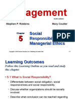 Chapter 5management10th Socialresponsibilityandmanagerialethics