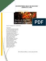 Pátzcuaro Michoacán Celebración Del Día de Muertos