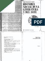 Hauser Arnold - Historia Social de La Literatura Y El Arte - Tomo 1