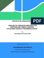Análise da Vibração Induzida por Vórtices em Tubos Flexíveis Utilizando Modelo Fonomenológico.pdf