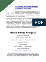 Servicios de Distrito Minero de El Callao Abogado en Venezuela