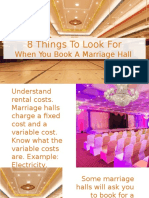What You Should Know Before Booking A Marriage Hall In Chennai