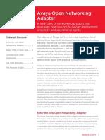 Avaya Open Networking Adapter Dn7702