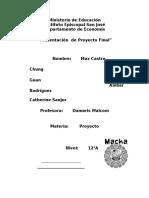 Macka -  Postres