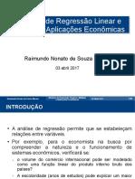 Apresentacao Analise Linear UEA030417