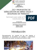Analisis y Propuestas de Señalización de Obras