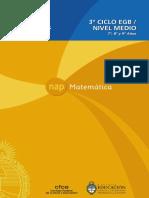 NAP de Matemática