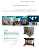 Ficha Tecnica Transformador 35 Kva Cibm Transformer (1)