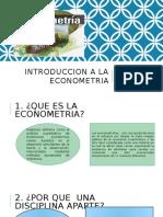 Introduccion a La Econometria Grupo de Kiara