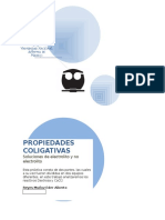 PROPIEDADES COLIGATIVAS dextrosa
