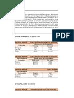 TERCERA ENTREGA GESTION DE OPERACIONES  -PRIMER  PUNTO.xlsx