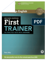 First Trainer 2016