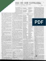 18xx Los masones no son católicos BN, F. Pineda 824, pza. 38