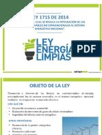 Presentación LEY 1715 de 2014